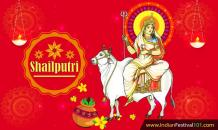 Maa Shailputri- First Day of Navratri, Puja, Mantra - Indian Festivals