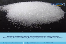 Magnesium Sulfate Production Cost Report 2021: Price Trend, Industry Analysis, Manufacturing Process, Profit Margins, Raw Materials Costs, Land and Construction Costs – Syndicated Analytics - The Market Writeuo