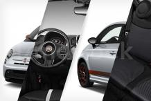 2019 Fiat 500e Car Stock Photography: All Electric -