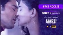 Marzi - Watch Voot Originals Thriller Web Series Marzi Full Episodes Online | Voot Select