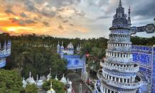 Masjid Tiban di Malang, wisata religi yang megah dan unik