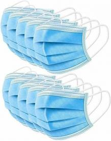 Disposable 3 Ply Face Masks For Adults