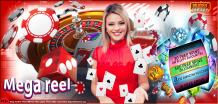 Casino games list and features mega reel offered – Delicious Slots