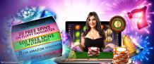 Play delicious slot with free spins at mega reel