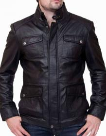 Top Class Men Leather Jacket | Men's Genuine Leather Coats & Jackets