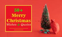 50 Merry Christmas Wishes and Quotes for You - Indian Festivals
