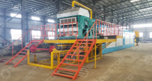 Egg Tray Dryer Machine - Automatic Metal Drying System