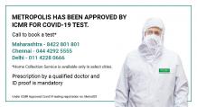 COVID-19 Test Mumbai, Pune | Coronavirus Test at Metropolis labs