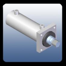 Front Flange Mechanical Cylinders | Marshal Haydromovers