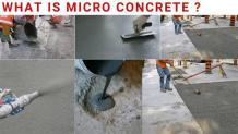 Micro Concrete Repair | Micro Concrete Application