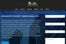 microsoft project users email list