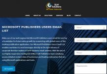 microsoft publishers users email list