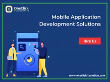 Mobile App Development Company, Mobile Application Development Solutions