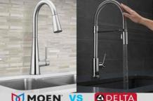 Moen vs. Delta kitchen faucets: A Short Examination