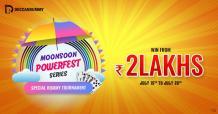 Rummy Tournament - Monsoon Powerfest - Win 2 Lakhs