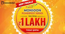 Rummy Tournament - 1 Lakh Monsoon Powerfest Finale