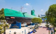 Pesona keindahan wisata sejarah Monumen Kapal Selam di Surabaya