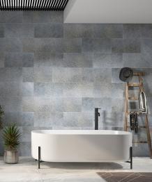 Moondust Sandblasted Brushed Quartzite Bathroom Wall Tiles
