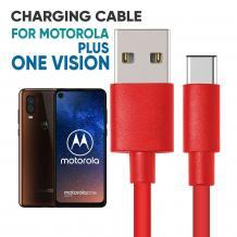 Motorola One Vision Plus PVC Cable   Mobile Accessories