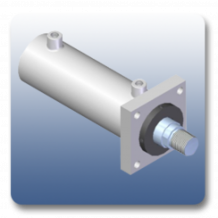Rear Clevis Mechanical Cylinders | Marshal Haydromovers