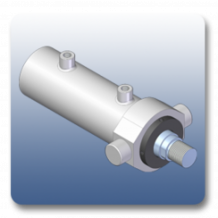 Front Trunnion Mechanical Cylinders | Marshal Haydromovers