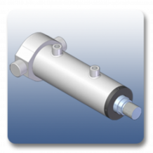 Rear Trunnion Mechanical Cylinders | Marshal Haydromovers