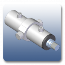 Center Trunnion Mechanical Cylinders | Marshal Haydromovers