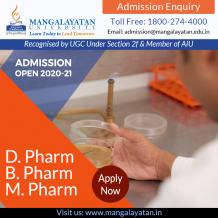 Pharmacy Course Admission 2020 For Securing Career in Healthcare! – Mangalayatan University-Aligarh