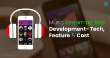 Music Streaming App Development Tech Cost & Features | Unified Infotech