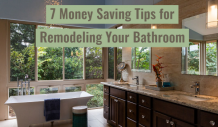 7 Money Saving Tips for Remodeling Your Bathroom - Home Improvement Tips