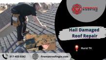 Hail Damaged Roof Hurst TX
