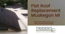 Flat Roof Replacement Muskegon MI