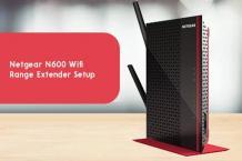 Netgear N600 Wifi Range Extender Setup
