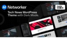 Networker - Tech News Premium Responsive WordPress Theme with Dark Mode by codesupplyco