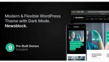 Newsblock - News & Magazine Responsive WordPress Theme with Dark Mode by codesupplyco