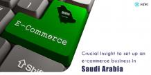 Crucial Insight To Set Up An E-Commerce Business In Saudi Arabia
