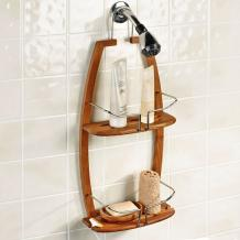 Bamboo Shower Caddy: Keep Your Shower Organized