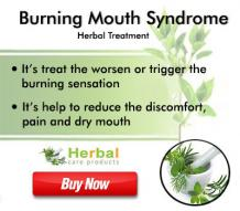 Natural Remedies for Burning Mouth Syndrome Help to Manage the Dry Mouth - Herbal Care Products Blog