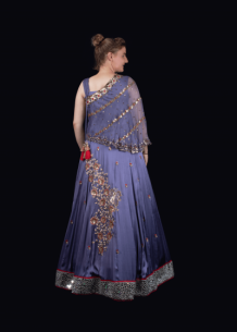 Designer Party wear Lehengas For Women & Crop Tops Online | Bhagyas