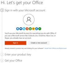 office.com/setup - Enter office setup product key - www.office.com/setup