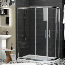 What could be the best offset quadrant shower?
