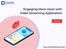 Video Streaming Application Development Company, Online Live Video Streaming App Development