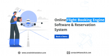 Online Flight Booking Engine Software & Reservation System