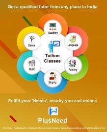 Get qualified tutors online on PlusNeed