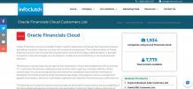 Companies using Oracle Financials Cloud