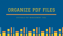 Best Way to Organize PDF Files – Find How to Manage Multiple PDFs