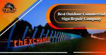 Where to Find an Outdoor Commercial Sign Repair Company Near Me?