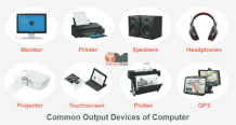 Output Devices of Computer: Definition & Examples - TutorialsMate