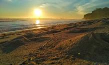 Nuansa Kuta di wisata pantai Sepanjang Wonosari Gunung Kidul Jogja
