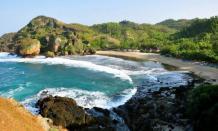 Wisata pantai Siung di Gunung Kidul yang indah mempesona